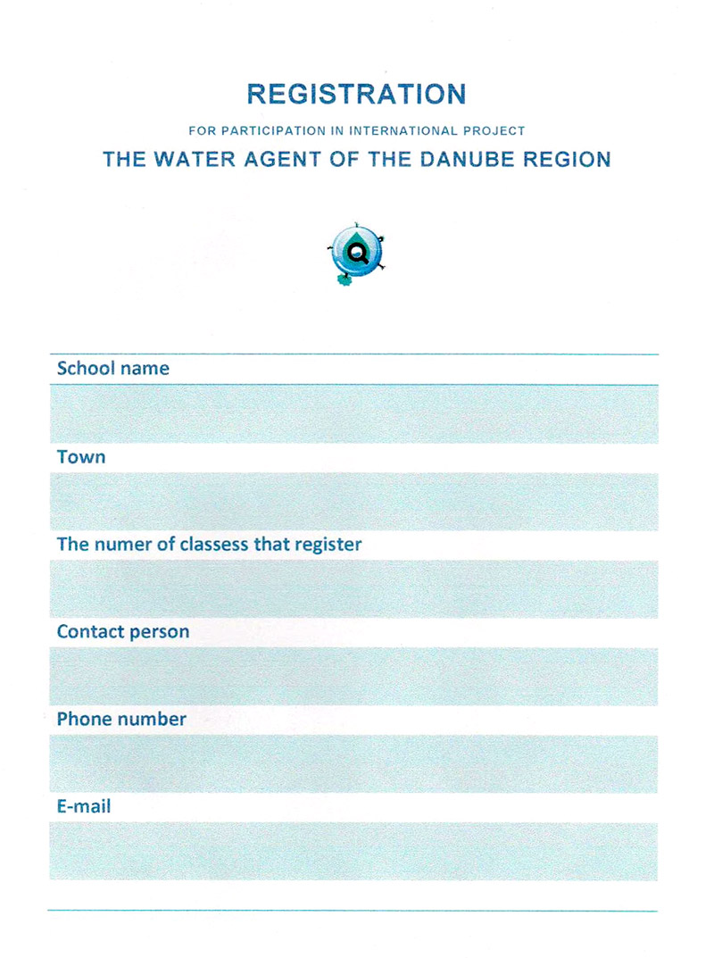 We invite your school to the Water agent